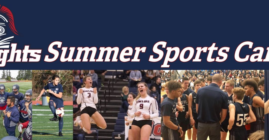 2019 Summer Sports Camps!