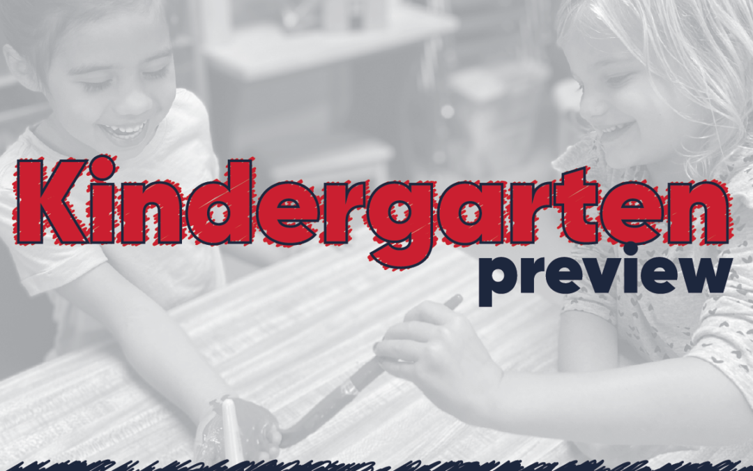 Kindergarten Preview Night – RSVP